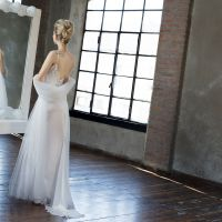 Wedding dress Elle sottoveste